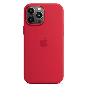Original Apple iPhone 13 Pro Max Silikone MagSafe Bagside Cover PRODUCT(RED) (MM2U3ZM/A)