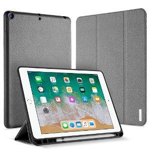 "iPad 9.7"" (2018/2017) Cover - DUX DUCIS DOMO Series Quality Case - Grå"