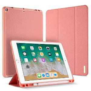"""iPad 9.7"""" (2018/2017) Cover - DUX DUCIS DOMO Series Quality Case - Pink"""