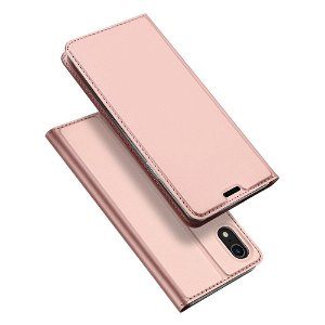 iPhone XR DUX DUCIS Skin Pro Series Thin Wallet Rose Gold