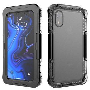 iPhone XR IP68 Waterproof Protection Case - Vandtæt Cover Sort