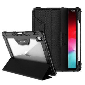 """iPad Pro 11"""" Nillkin Læder Bumper Cover m. Beskyttelsesfilm - Sort"""