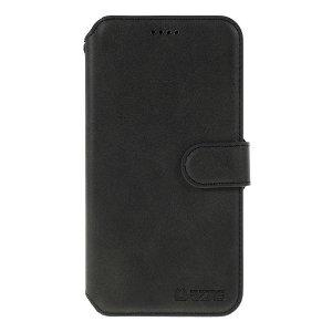 iPhone 11 Pro Max AZNS Læder Cover m. Pung Sort