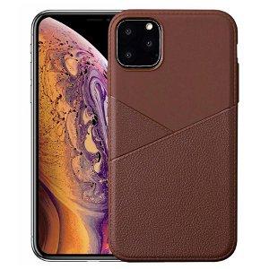 iPhone 11 Pro Business Look Fleksibelt Cover - Brun