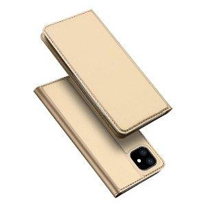 iPhone 11 Dux Ducis Flip Cover - Guld