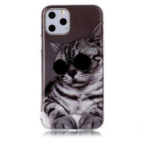 iPhone 11 Pro Cover med Print - Kat m. Solbriller