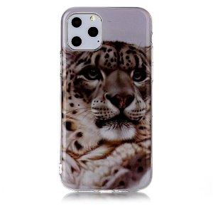 iPhone 11 Pro Cover med Print - Leopard Ansigt