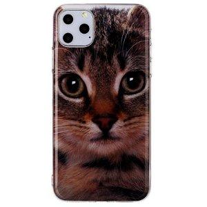iPhone 11 Pro Max Fleksibelt Cover Sød kat