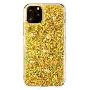 iPhone 11 Pro Plastik Cover m. Glimmer - Guld