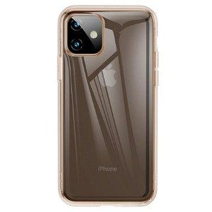 iPhone 11 Baseus Airbag TPU Cover Gennemsigtig/Guld