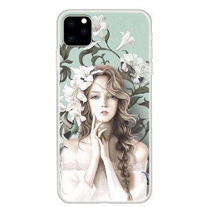 iPhone 11 Pro Max Cover Blomsterpige Print