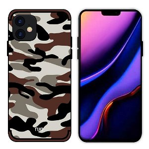 iPhone 11 NXE Camouflage Cover - Hvid
