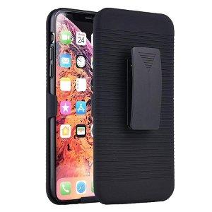 iPhone 11 Pro Håndværker Cover m. Bælteholder - Sort