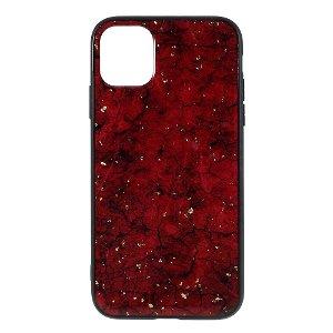 iPhone 11 Pro Max Cover m. Plastbagside - Rød Epoxy