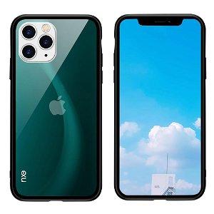 iPhone 11 Pro NXE Fleksibelt Fashion Cover m. Glasbagside - Grøn
