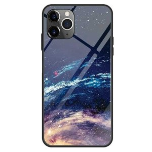 iPhone 11 Pro Fashion Cover m. Glasbagside - Cosmic