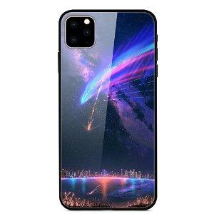 iPhone 11 Cover m. Glasbagside - Stjerneskud