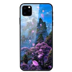 iPhone 11 Cover m. Glasbagside - Hanayama
