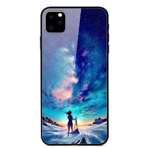 iPhone 11 Cover m. Glasbagside - Astronomical Girl