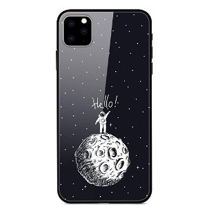 iPhone 11 Pro Max Cover m. Glasbagside - Man On The Moon