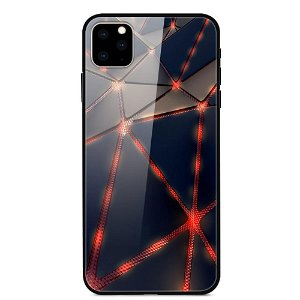 iPhone 11 Pro Max Cover m. Glasbagside - Steel Wire