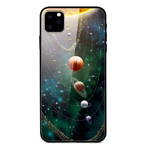 iPhone 11 Pro Max Cover m. Glasbagside - Solsystem