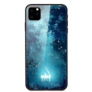 iPhone 11 Pro Max Cover m. Glasbagside - Fantasy Forest