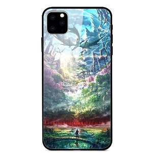 iPhone 11 Pro Max Cover m. Glasbagside - Adventure