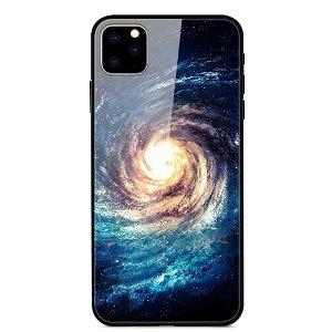 iPhone 11 Pro Max Cover m. Glasbagside - Nebula