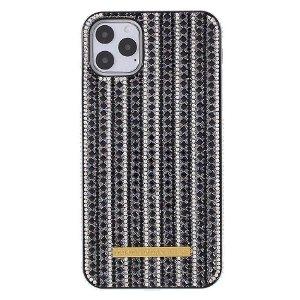 iPhone 11 Pro Max Rhinestone Cover - Sort