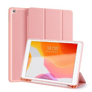 """iPad 10.2"""" (2021 / 2020 / 2019) Cover - DUX DUCIS DOMO Series Quality Case - Rose Gold"""