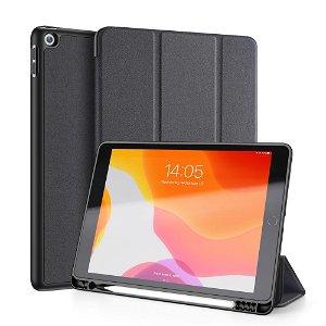 "iPad 10.2"" (2021 / 2020 / 2019) Cover - DUX DUCIS DOMO Series Quality Case - Sort"