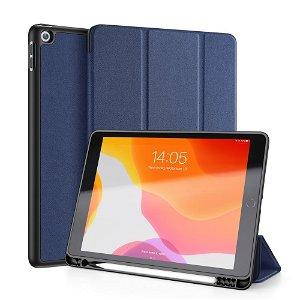 """iPad 10.2"""" (2021 / 2020 / 2019) Cover - DUX DUCIS DOMO Series Quality Case - Mørkeblå"""