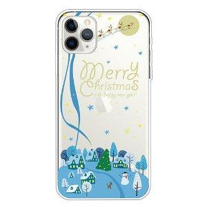 iPhone 11 Pro Fleksibelt Plast Cover - Julelandskab