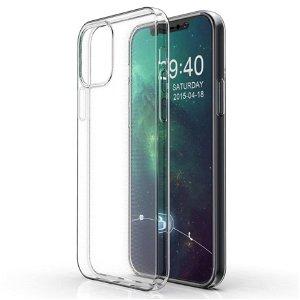 iPhone 12 Pro Max Bump Safe Fleksibelt Plast Cover - Gennemsigtig