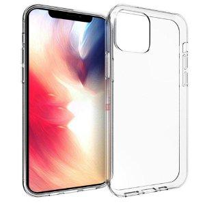 iPhone 12 Pro Max Fleksibelt Bagside Cover - Gennemsigtig