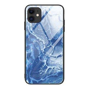 iPhone 12 Mini Bagside Cover m. Glasbagside - Bølger