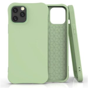 iPhone 12 / 12 Pro Fleksibel Plast Cover - Grøn