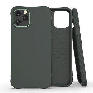 iPhone 12 / 12 Pro Fleksibel Plast Cover - Mørkegrøn