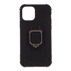 iPhone 12 / 12 Pro Cover m. Magnetisk Kickstand - Sort