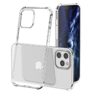 iPhone 12 Mini Hybrid Plast Cover - Gennemsigtig