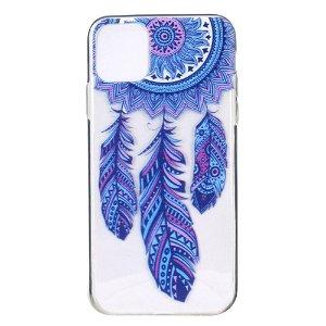 iPhone 12 / 12 Pro Plastik Bagside Cover - Blå Drømmefanger