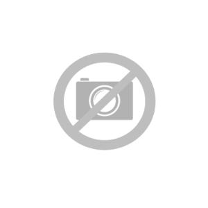 iPhone 12 Mini Stof Bagside Cover m. Kortholder - Rød