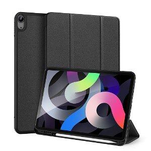 iPad Air (2020) Cover - DUX DUCIS DOMO Series m. Pen Holder - Sort
