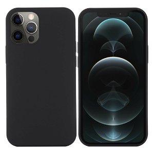 iPhone 12 / 12 Pro Silikone Case Sort MagSafe