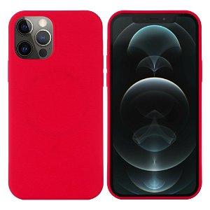 iPhone 12 / 12 Pro Silikone Case Rød MagSafe