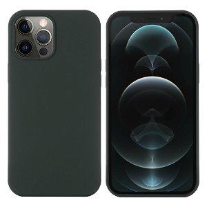 iPhone 12 / 12 Pro Silikone Case Grøn MagSafe