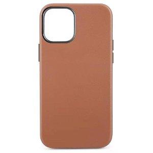 iPhone 12 Mini MagSafe Kompatibel Cover - Læder - Brun