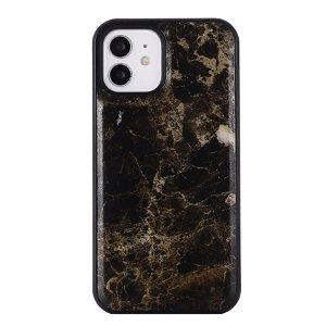 iPhone 12 Mini Bagside Cover - MagSafe Kompatibel - Sort Marmor