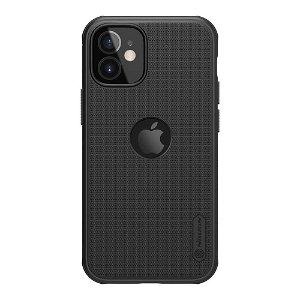 iPhone 12 Mini Nillkin Frosted Shield Case - MagSafe Kompatibel - Sort